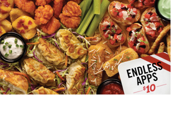 Endless Appetizers at TGI Friday's