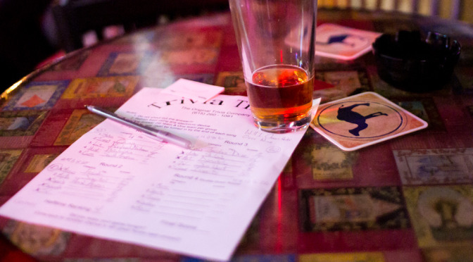 Citilist: Bar Trivia | SusieDrinks