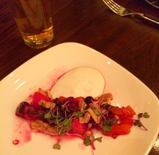 Lager and Beet Salad