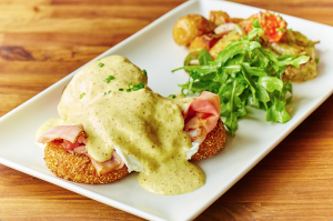 Eureka!'s Creole Benedict (photo credit: Kevin Marple)