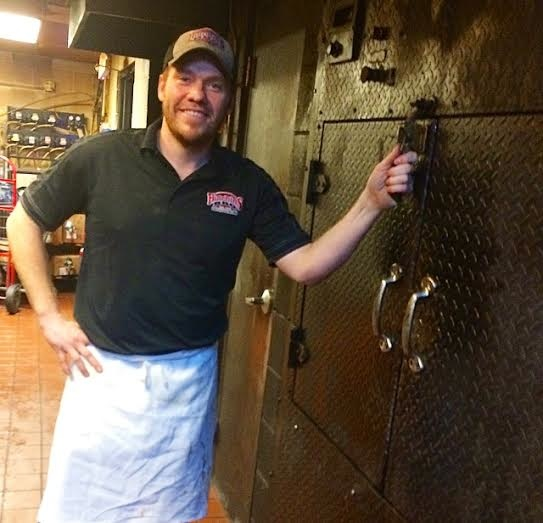 Chef Tim and his smoker