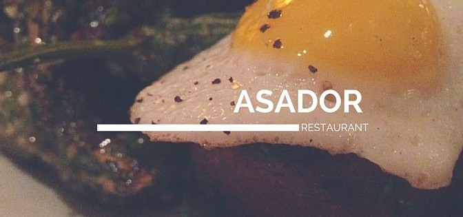 Asador's New Menu Items