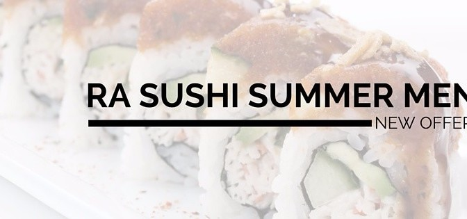 RA Sushi's New Menu Items