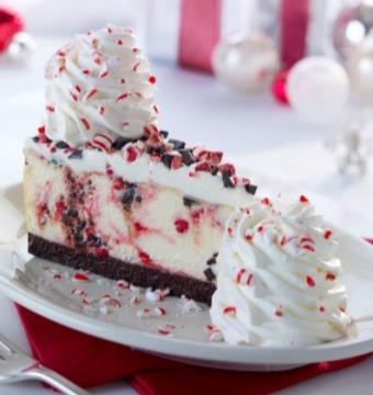 Cheesecake Factory Peppermint Cheesecake