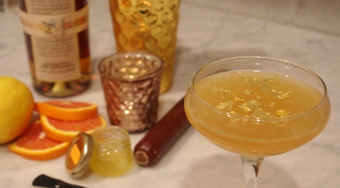 Oscar Cocktail: The Gold Man