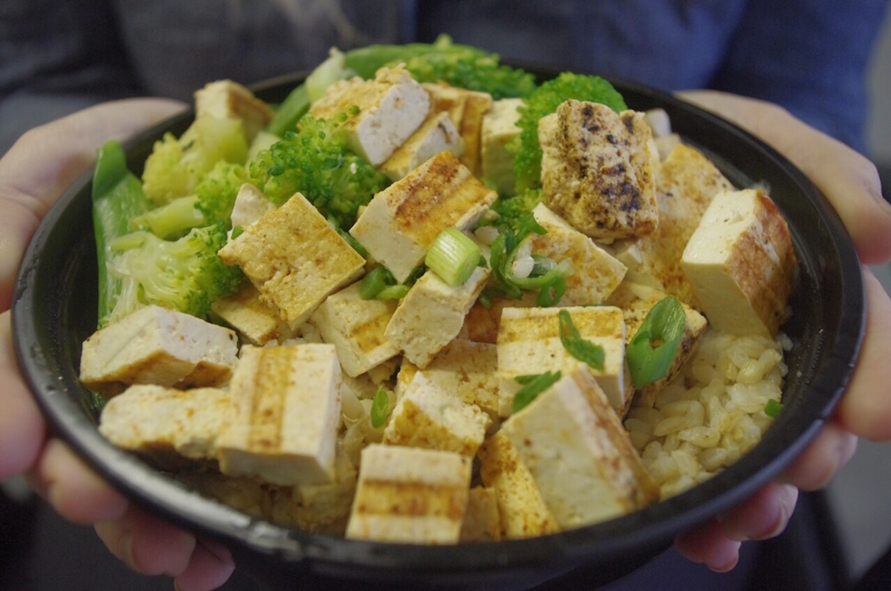 TOFU BUILD-YOUR-OWN BOWL