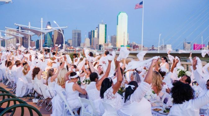 Dîner En Blanc Dallas