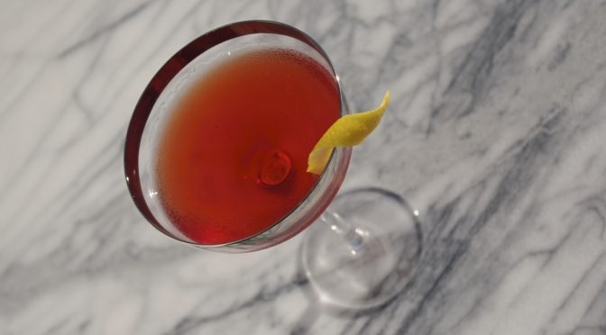 #SusieDrinksClassics: the Boulevardier