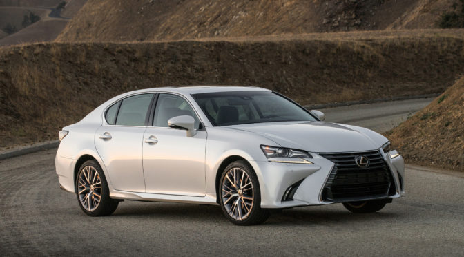Driving, Not Drinking: Lexus GS200t