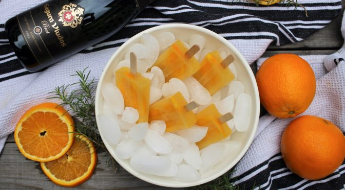 Recipe: Orange Cava Popsicles ft. Segura Viudas Brut Cava