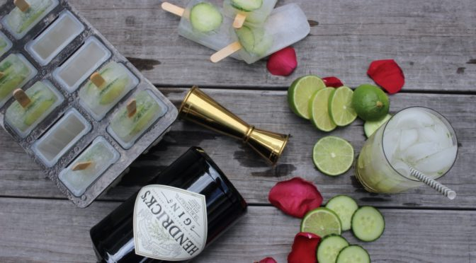 Celebrate World Cucumber Day with Hendrick's Gin